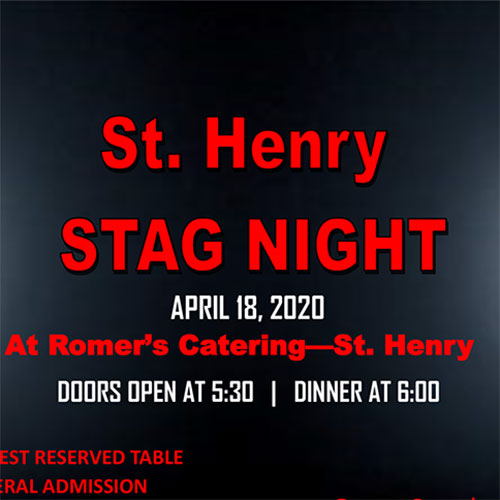 St. Henry Stag Night